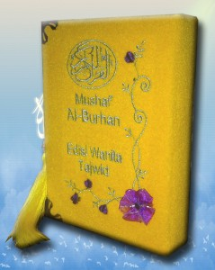 Al-Quran Wanita Al-Burhan Tajwid Edisi Bunga