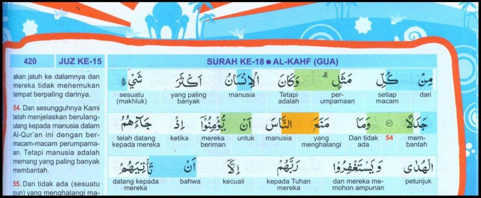 Bentuk tulisan al-quranku for kid