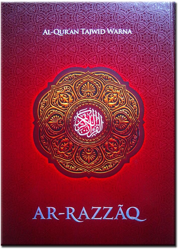 al-quran tajwid ekstra besar ar razaq