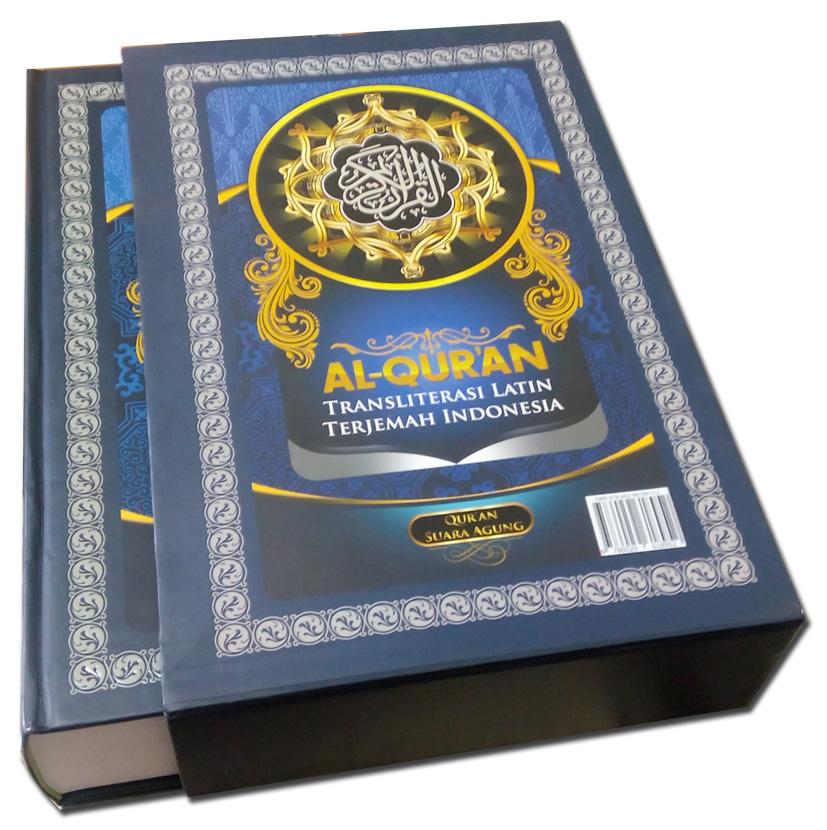 al-quran latin suara agung A4
