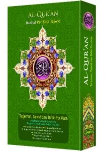 Al-Quran Per Kata Tajwid Jabal (A5)