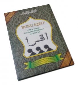 Iqro Hard Cover Bewarna (A5)