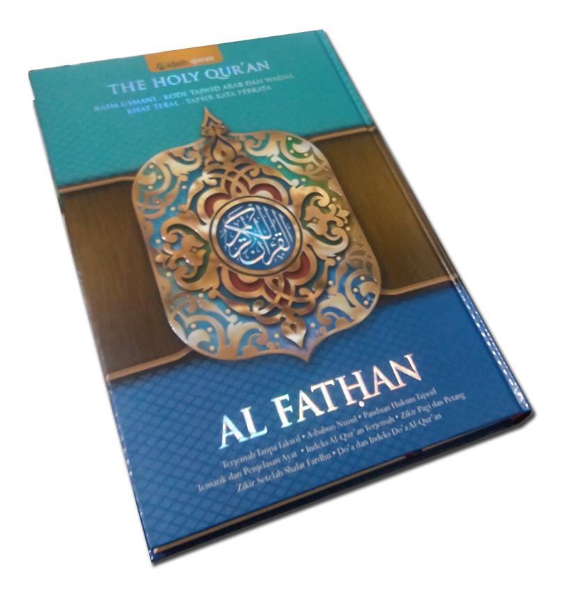 al-quran al fathan copy