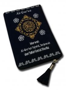 Al-Quran Beludru Marwa (A6)