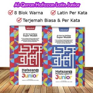 Al-Quran Hafazan Junior A5 (Per Kata & Latin )